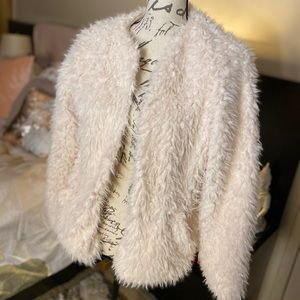 Woman's Fluffy Fur Teddy Coat